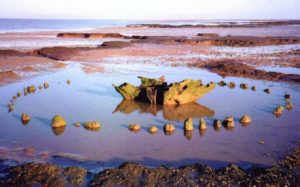 Seahenge at Holme-next-the-Sea, Norfolk (dated to 2050 BC)