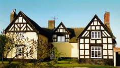 Tilley Manor in Shropshire (centre dated to 1568, left wing 1607 and right wing 1617)